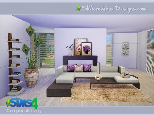 The Sims Resource: Campanelli by SImcredible Designs • Sims