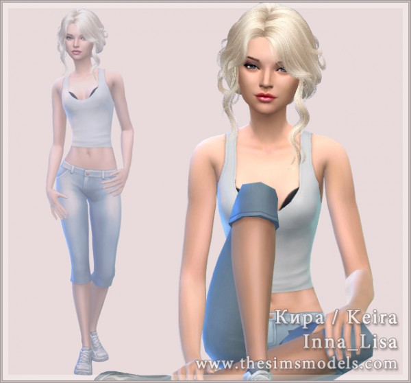 The Sims Models: Keira by Inna Lisa