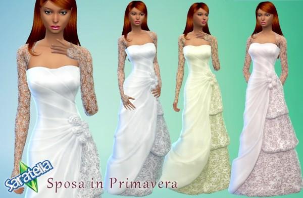 Saratella`s Place: Spring Wedding dress