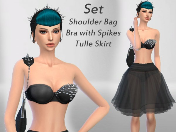 The Sims Resource Set Bag Bra Skirt By Colores Urbanos