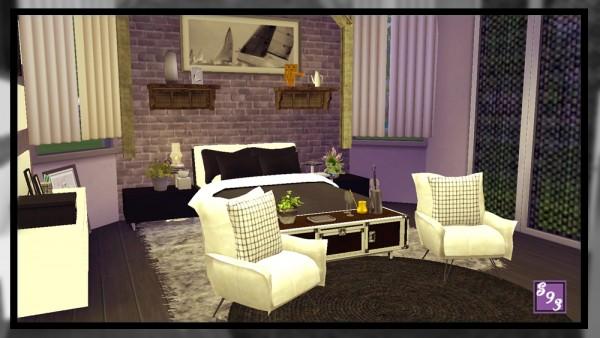 The Stories Sims Tell: Modern Spectrum   Black Bedroom