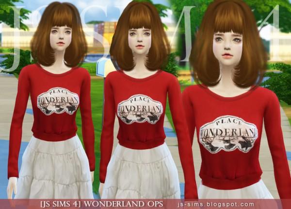 JS Sims 4: Wonderland OPS