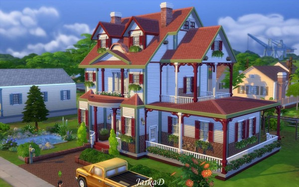 Jarkad Sims 4 Family House No 5 Sims 4 Downloads
