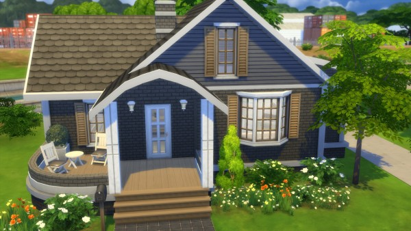 Totally sims perfect cutiepie starter sims 4 downloads for Small starter homes