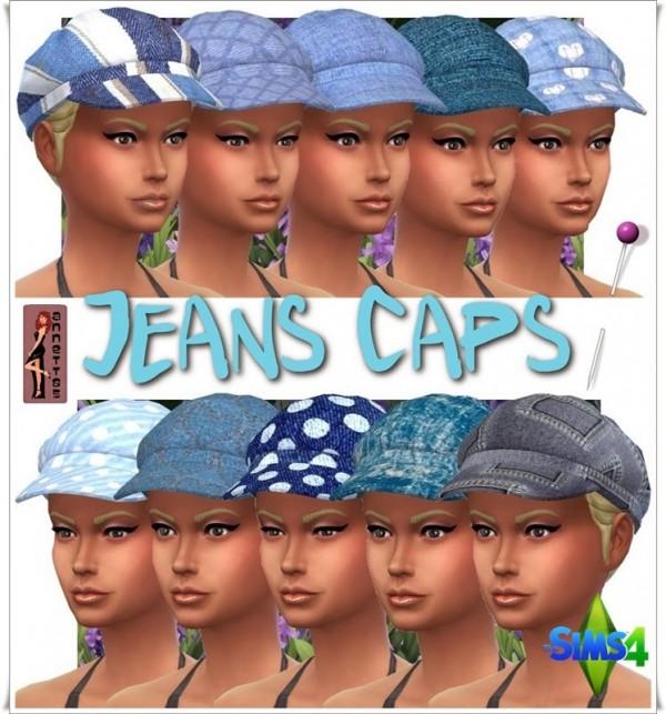 Annett`s Sims 4 Welt: Jeans caps