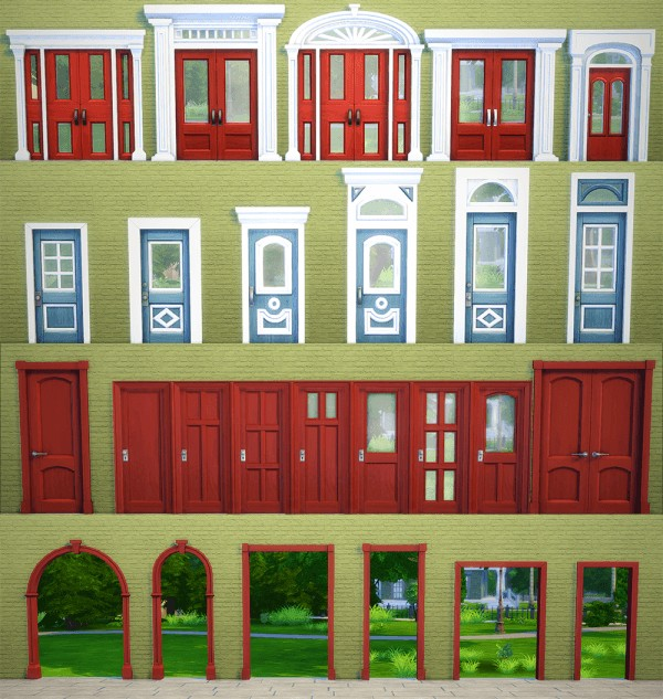 Sims 4 Cc S The Best Windows By Tingelingelater: Saudade Sims: Redone Windows And Arches • Sims 4 Downloads