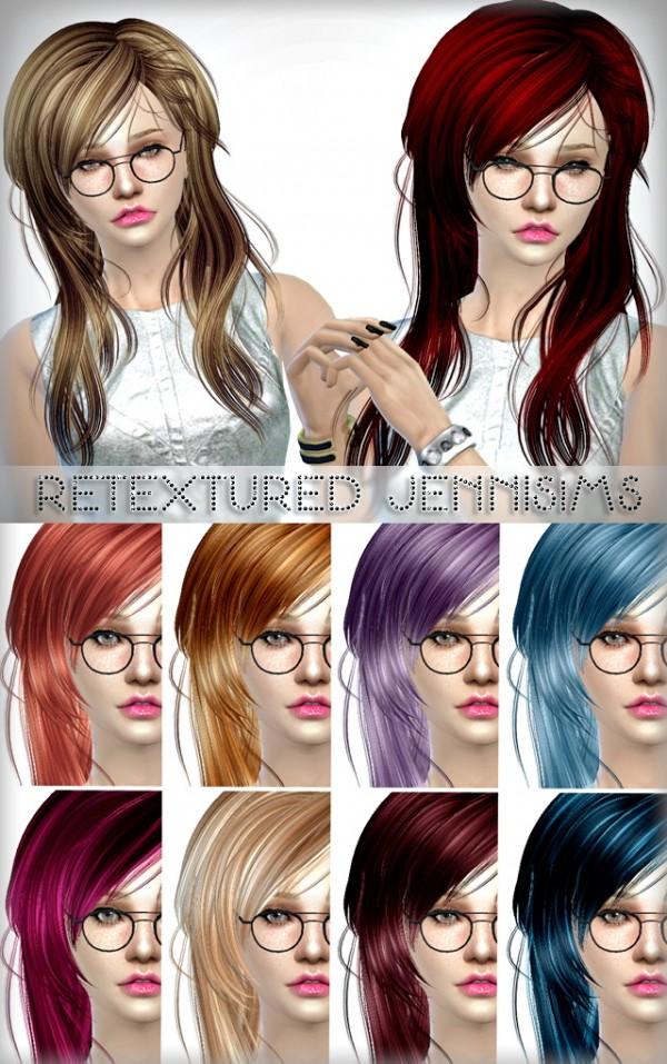 Jenni Sims: Newsea Kiss Jasmine Hair retextured without flower
