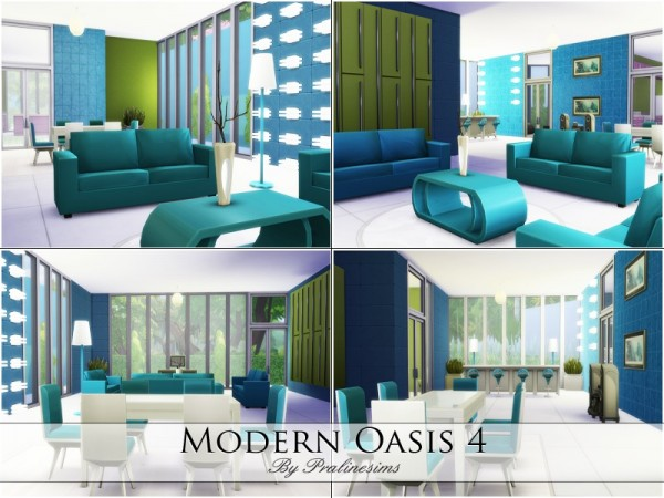 The Sims Resource: Modern Oasis 4 by Praline Sims