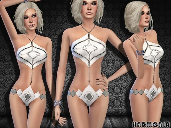 The Sims Resource: Designer Iconic Bikini Shots by Harmonia