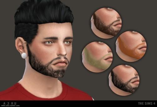 A3RU: Facial Scruff F69