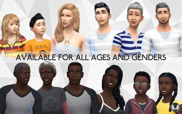 Simsational designs: The Other Side   New Skin Colours