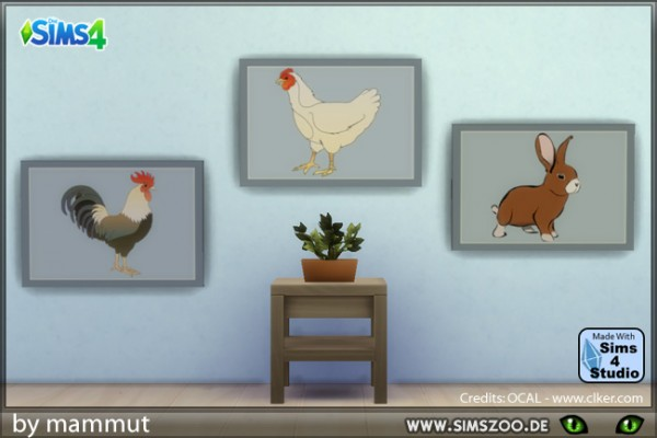 Blackys Sims 4 Zoo: Easter pictures 1
