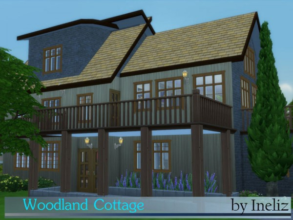 The Sims Resource: Woodland Cottage by Ineliz