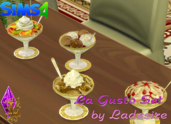 Ladesire Creative Corner: La Gusto Set by Ladesire