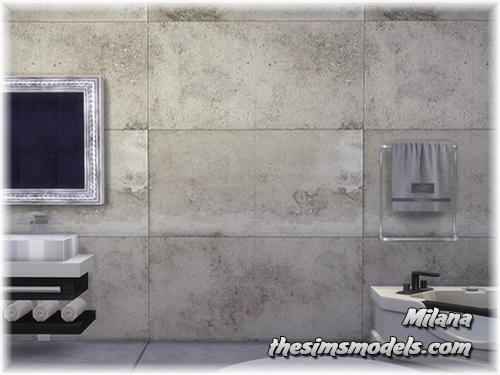 The Sims Models: Walls by Milana