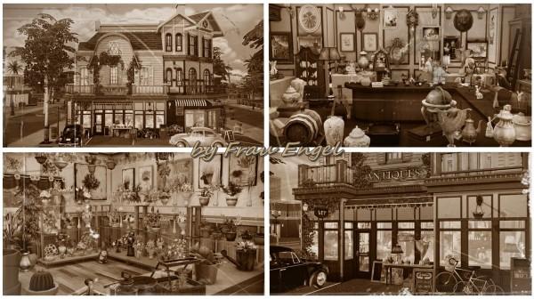 Frau Engel: Antique store