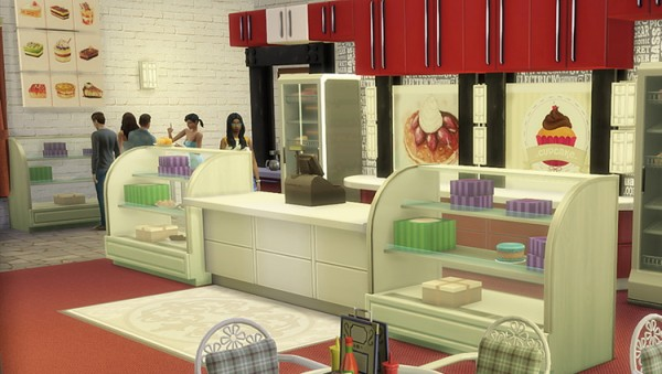 OleSims: Decoration for sweet shop