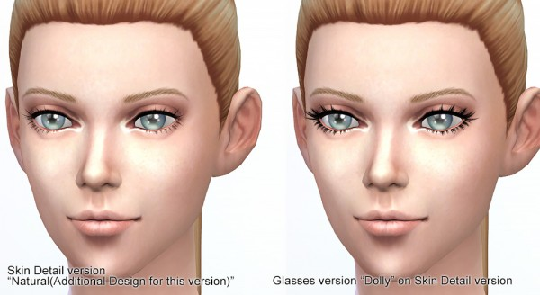 Kijiko: 3D Lashes Version2 for Skin Detail