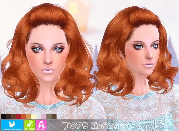 NewSea: J079 Infinity hair