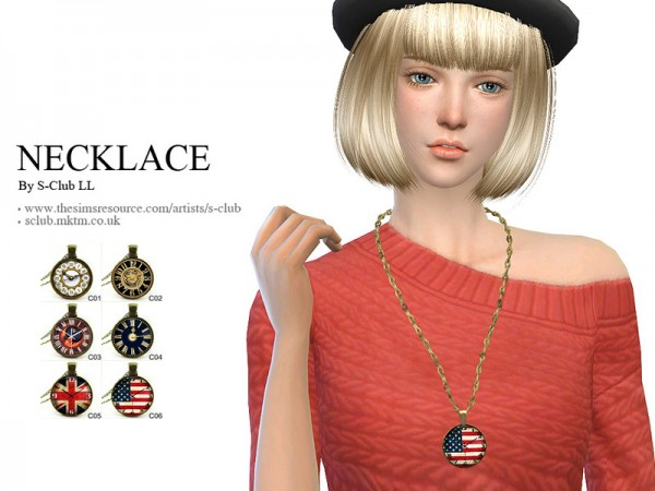 The Sims Resource: Necklace N02 by S Club