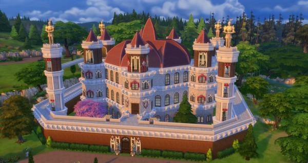 Mod The Sims: Game of Thrones   Great Sept of Baelor (Inspired) by sim4fun