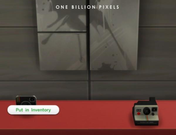 One Billion Pixels: Polaroid cameras