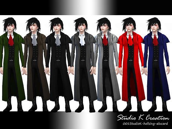 Studio K Creation: Hellsing   Alucard outfit