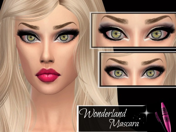 The Sims Resource: Wonderland Mascara by Queen BeeXxx21