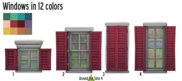 Around The Sims 4: Doors, Walls, Windows