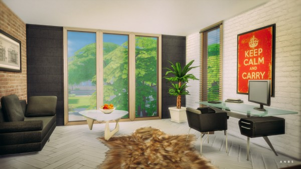 Alachie and Brick Sims: Bamboo studio