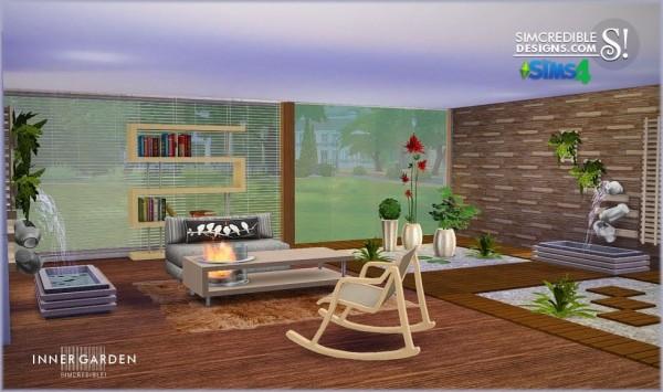 Simcredible designs inner garden sims 4 downloads for Garden design sims 4