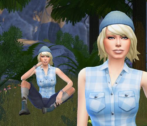 Les Sims 4 Passion: Elisa MERIT