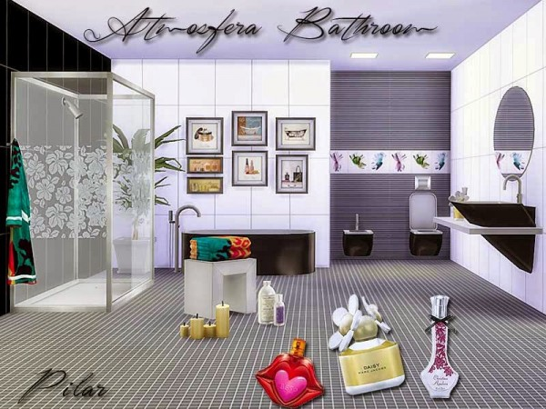 SimControl: Atmosfera Bathroom By Pilar