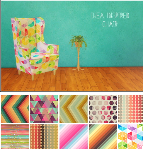 LinaCherie: IKEA Inspired chair   conversion