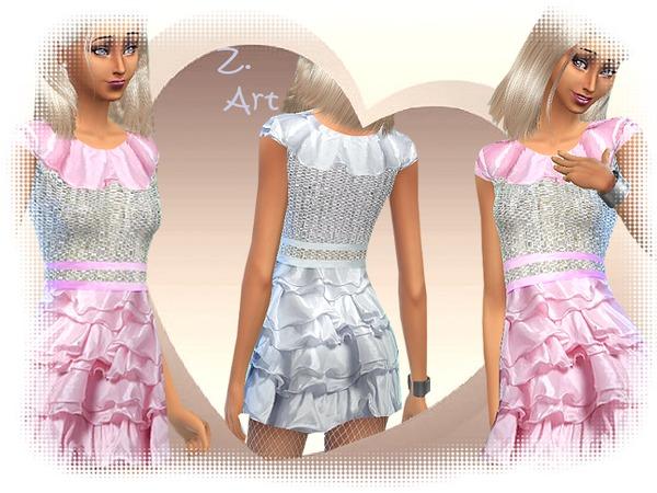 The Sims Resource First Dance Dress By Zuckerschnute20