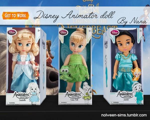 Nolween: Disney Animator doll   BY NANA