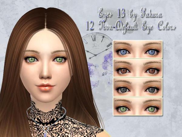 The Sims Resource: Eyes 13 by Sakura Phan