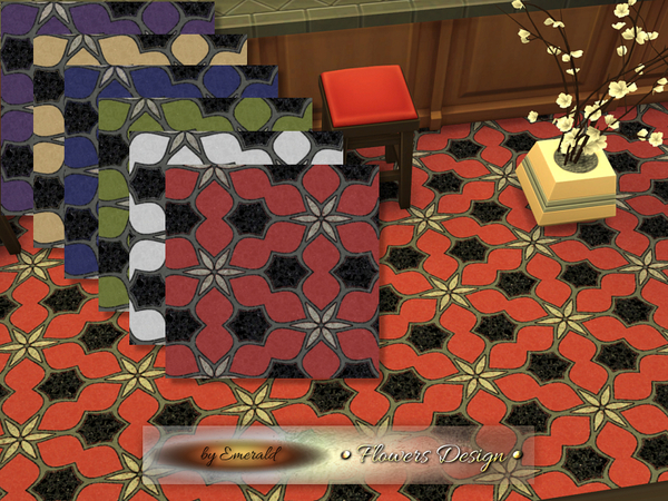 The Sims Resource: Flowers Design by Emerald