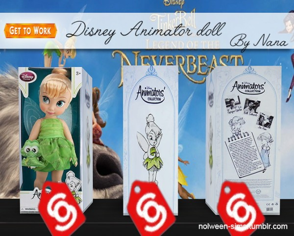 Nolween Disney Animator Doll By Nana Sims 4 Downloads