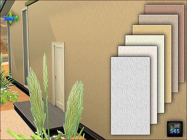 Arte Della Vita 4 Exterior Plaster Walls In 6 Colors