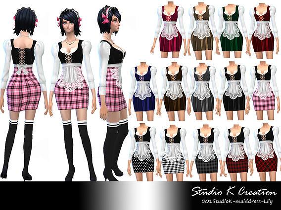 Studio K Creation: Maid Dress   Lily