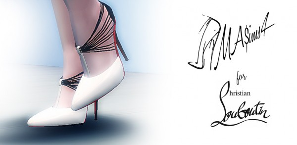 efef69c58250 MA ims 3  Christian Louboutin Stiletto Shoes • Sims 4 Downloads