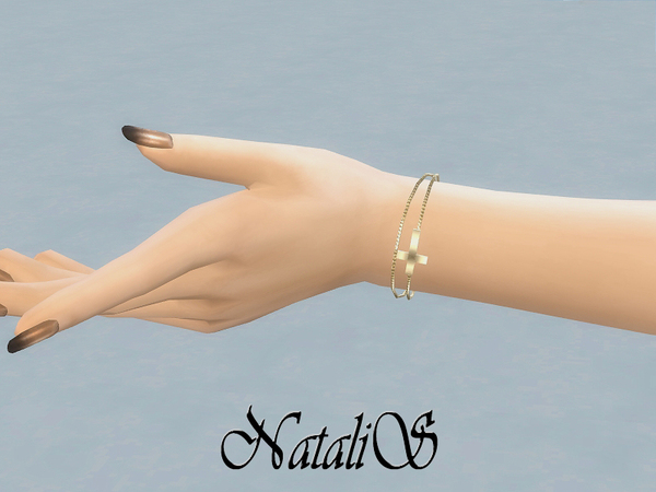 The Sims Resource: Cross Chain bracelet by NataliS