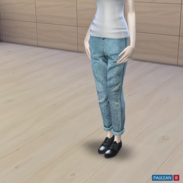 Paluean R Sims: Boyfriend Jeans N2