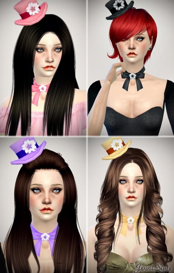 Jenni Sims: New Mesh Accessory Hats /Necklace