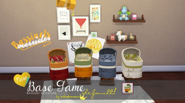 In a bad romance: Bassinet for kids