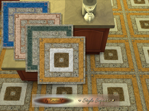 The Sims Resource: Style Square by Emerald