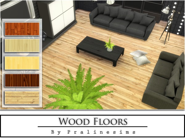 The Sims Resource: Wood Floors by Praline Sims