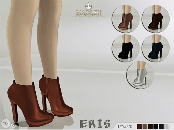 The Sims Resource: Madlen Eris Boots by MJ95