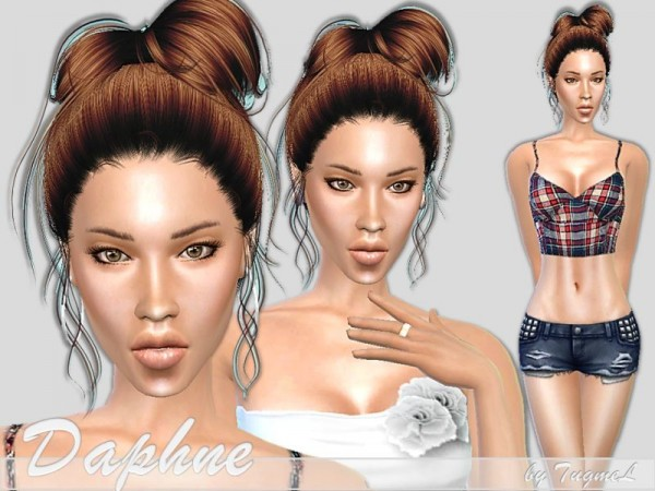 The Sims Resource: Daphne female models vy TugmeL